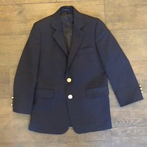 Lord & Taylor Navy Sportcoat - Size 7